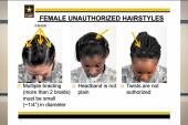 Army hairstyle policies drawing criticism
