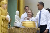 Hillary Clinton remains in public spotlight