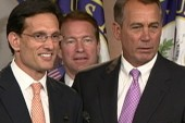 Is Cantor constantly challenging Boehner?