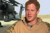 Prince Harry returns from tour safely
