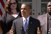Obama stands firm in interview