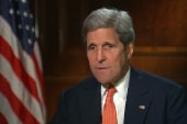 Sanctions kept in place, says Kerry