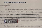 JFK called for end to Cold War