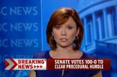 Senate votes to clear procedural hurdle