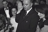 LBJ frustrated, unhappy before presidency...