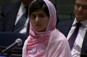 Teen shot by Taliban delivers powerful...
