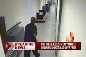 FBI releases new Navy Yard video