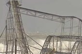 Sandy causes destructive damage to NJ
