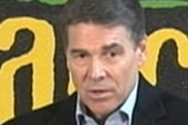 Perry attempts to get back into Iowa race