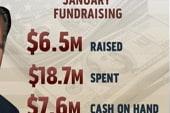 Romney spends more than he raises