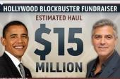 Clooney hosts star –studded fundraiser for...