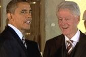 Clinton, Obama participate in fundraising...