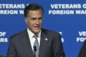 Romney debuts more aggressive strategy