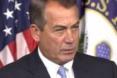 Boehner takes hard line on Holder contempt...