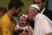 Virtue triumphs: Pope receives 'Person' title