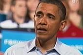 Obama hits Romney at Ohio, Virginia rallies