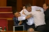 Political punches: Lawmakers behave badly
