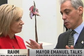 Mayor Emanuel talks contraception debate