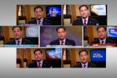 Rubio's morning show roundup has many...