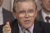 Former Sen. Warren Rudman dies