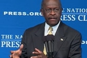 Cain tops field in Des Moines Register Poll