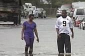 Lingering storm surge threat persists