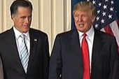 Trump hosts second fundraiser for Romney...