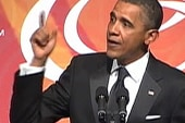Obama gives blunt message to the CBC