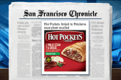 Nestle issues Hot Pockets recall