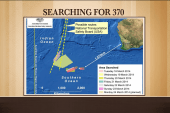 Search for missing flight enters 17th day