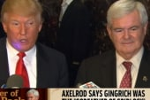 Rev. Al on Gingrich's rise: Newt is the...
