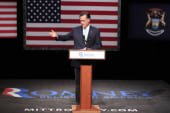 Klein: Romney thinks we have the memory of...