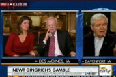 Gloves come off in Iowa: Gingrich calls...