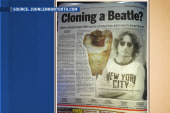Dentist hopes to clone John Lennon from an...