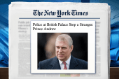 Britain's Prince Andrew mistaken for...
