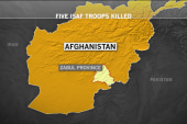 Five coalition troops killed in Afghanistan