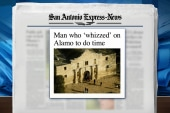 Man uses Alamo as bathroom, gets in trouble