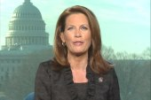 Bachmann on which candidate she supports,...