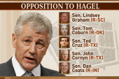 Chuck Todd: This is about Chuck Hagel...
