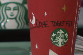Starbucks urges Congress to work together...
