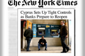 Cyprus banks reopen -- with transaction...