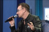 Bono does a spot-on impression of Bill...