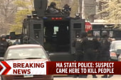 One suspect dead, one missing in Boston...