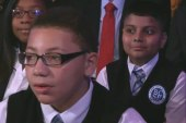 Focus on education at Bronx Charter School...