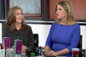 Meredith Vieira and Jenna Bush Hager on...