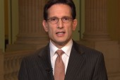 Cantor: My speech will demonstrate why we...