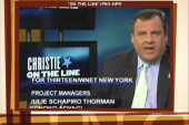 Christie: 'None of your business' why my...