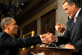 CEOs meet with Obama, Boehner has good day...