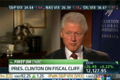 Are Clinton's comments on Bush tax cuts...