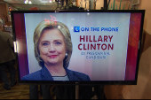Clinton on campaign, Sanders and health care